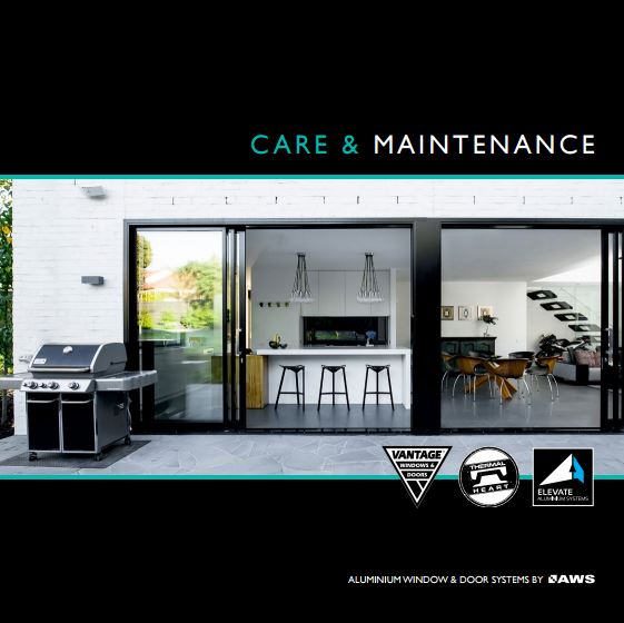 AWS Care and Maintenance of windows of doors
