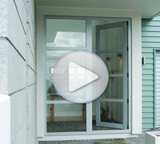 How to Install Aluminium French Doors into Brick Veneer Construction